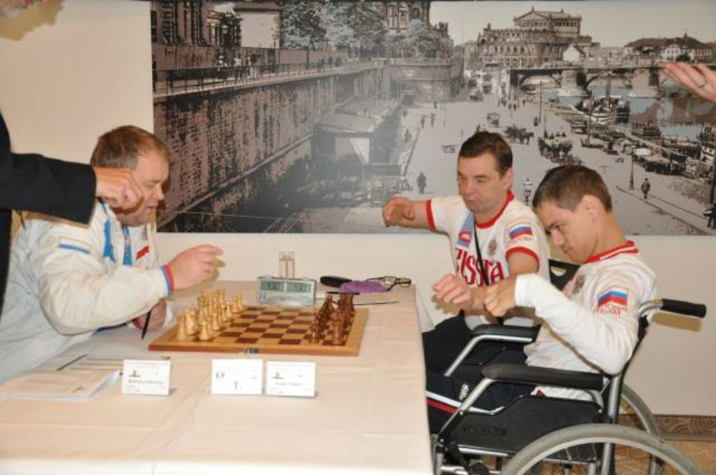 Disabled Chess Players