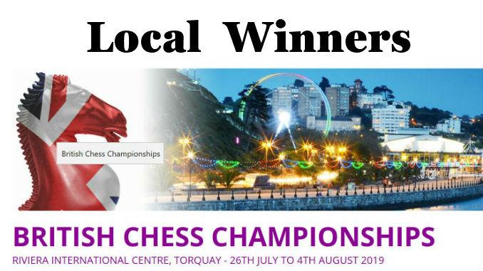 Hampshire Winners at the British Chess Championship 2019