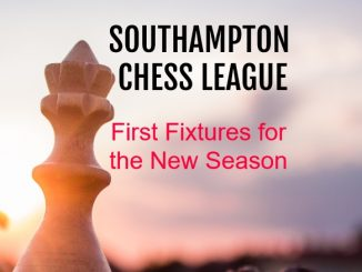 Southampton Chess League First Fixtures 2019